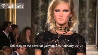 Top model- Toni Garrn (mix) catwalk
