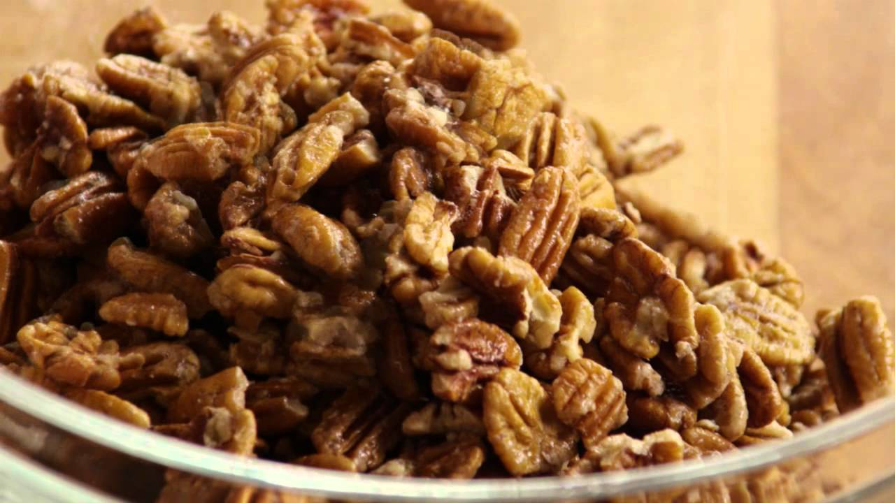 How to Make Sugar Coated Pecans - YouTube
