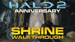 "Halo 2 Anniversary New ""Shrine"" Walkthrough (Sanctuary Remastered) - Gamescom 2014"