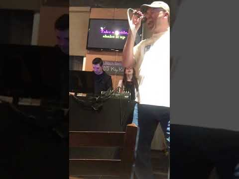 Karaoke - Jon and Deno - Pour some Sugar on Me - 4/13/2017