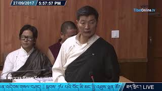 'His Holiness The Dalai Lama is beyond Reproach' says CTA President Dr. Lobsang Sangay