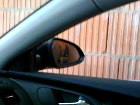 OPEL Insignia -- Tilt mirror in reverse - YouTube