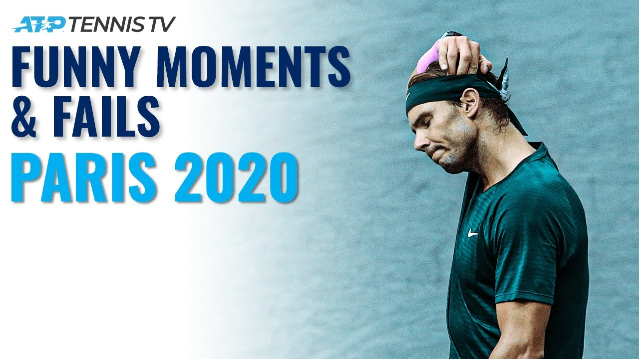 Funny Tennis Moments & Fails 😂 | Paris 2020