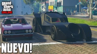 nuevo super coche batman vigilante gta v online