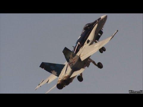 2012 Chico Air Show - Royal Canadian CF-18 Hornet Demo