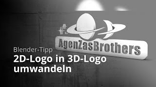 Blender-Tipp - 2D-Logo in 3D-Logo umwandeln(In diesem Blender 2.6 Tipp-Video zeige ich euch, wie ihr mithilfe von GIMP ein 2D-Logo in ein 3D-Logo umwandeln könnt. Software: Blender 2.68a (Download: ..., 2013-09-06T10:27:55.000Z)