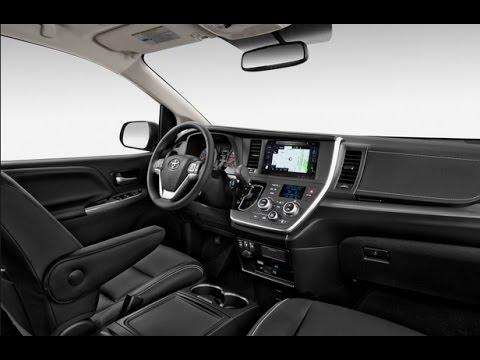 2017 Toyota Sienna Triple Black