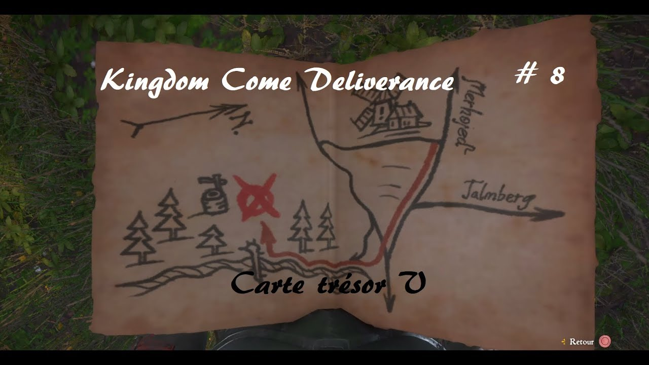 Carte Au Tresor 3 Kingdom Come.Kingdom Come Deliverance Carte Au Tresor V
