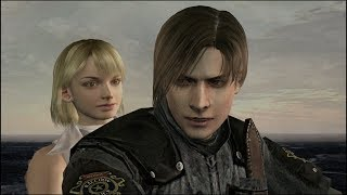 Resident Evil 4 new game plus walkthrough part 8 game ending