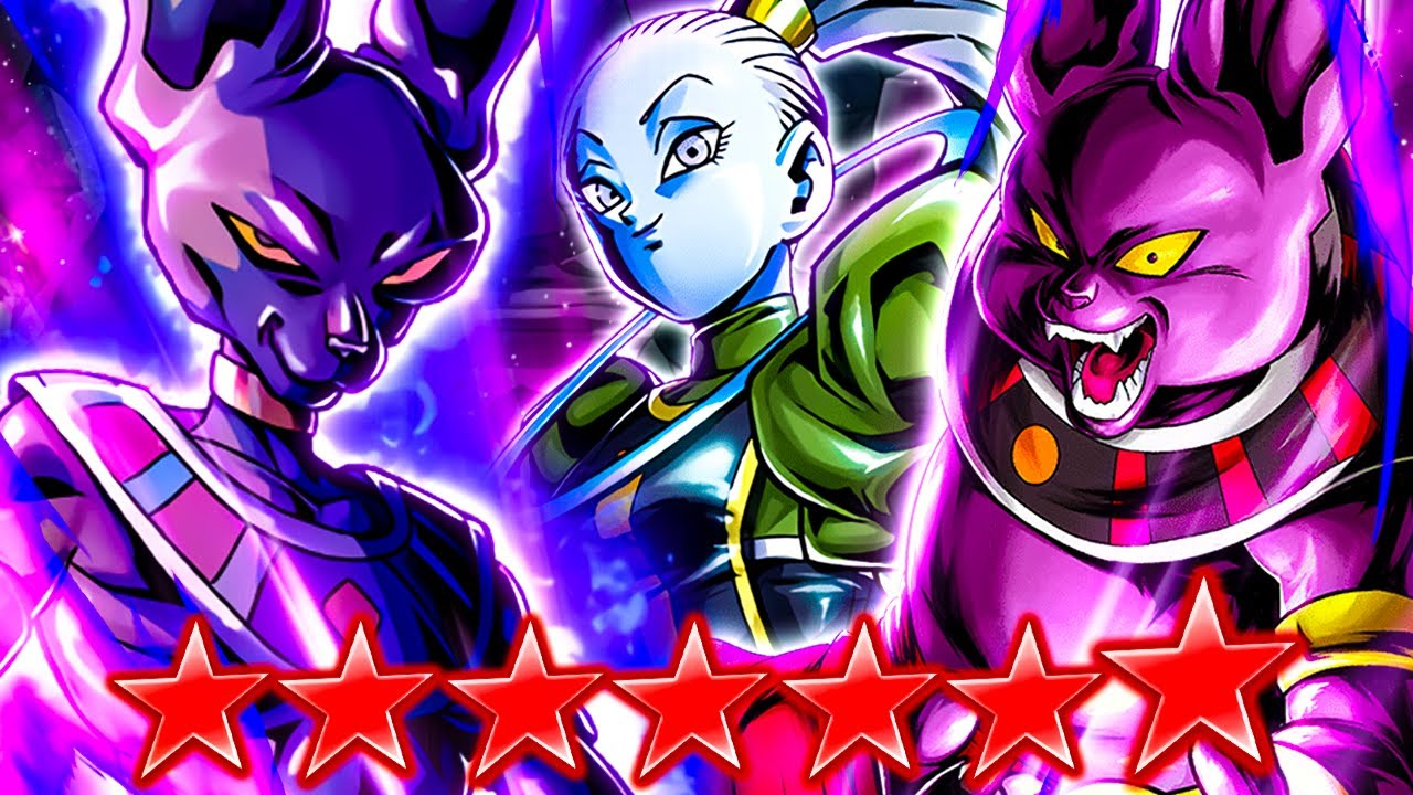 (Dragon Ball Legends) TRUE GODS OF DESTRUCTION! ZENKAI 7 BEERUS & 14 STAR CHAMPA BOOSTED BY VADOS!
