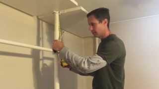 Diy Closet Install Ikea Stolmen