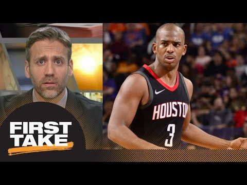 Max addresses Chris Paul after drama between Rockets-Clippers | First Take | ESPN
