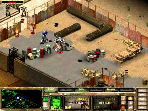 Fallout Tactics Walkthrough Part 17 Great Bend