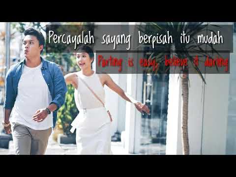 Rizky Febian ft Mikha Tambayong - Berpisah Itu Mudak Lirik + Translation (Bahasa Inggris)