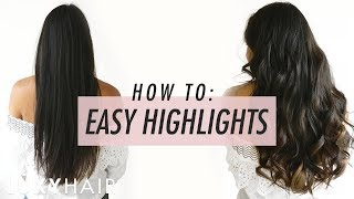 EASY AT-HOME HIGHLIGHTS (Damage-Free!) | Transformation Tuesday | Luxy Hair