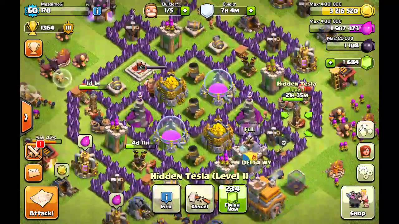 clash of clans how to use wall breakers