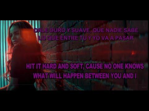 DURO Y SUAVE ENGLISH/SPANISH LYRICS