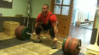 Rauno Heinla Deadlift 372 kg