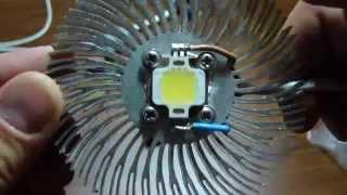 Как подключить светодиоды на 5-10 W. Обзор блока питания 25W S-25-12