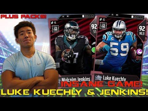 WE GET NEW LUKE KUECHLY & MALCOLM JENKINS! Madden 18 Ultimate Team