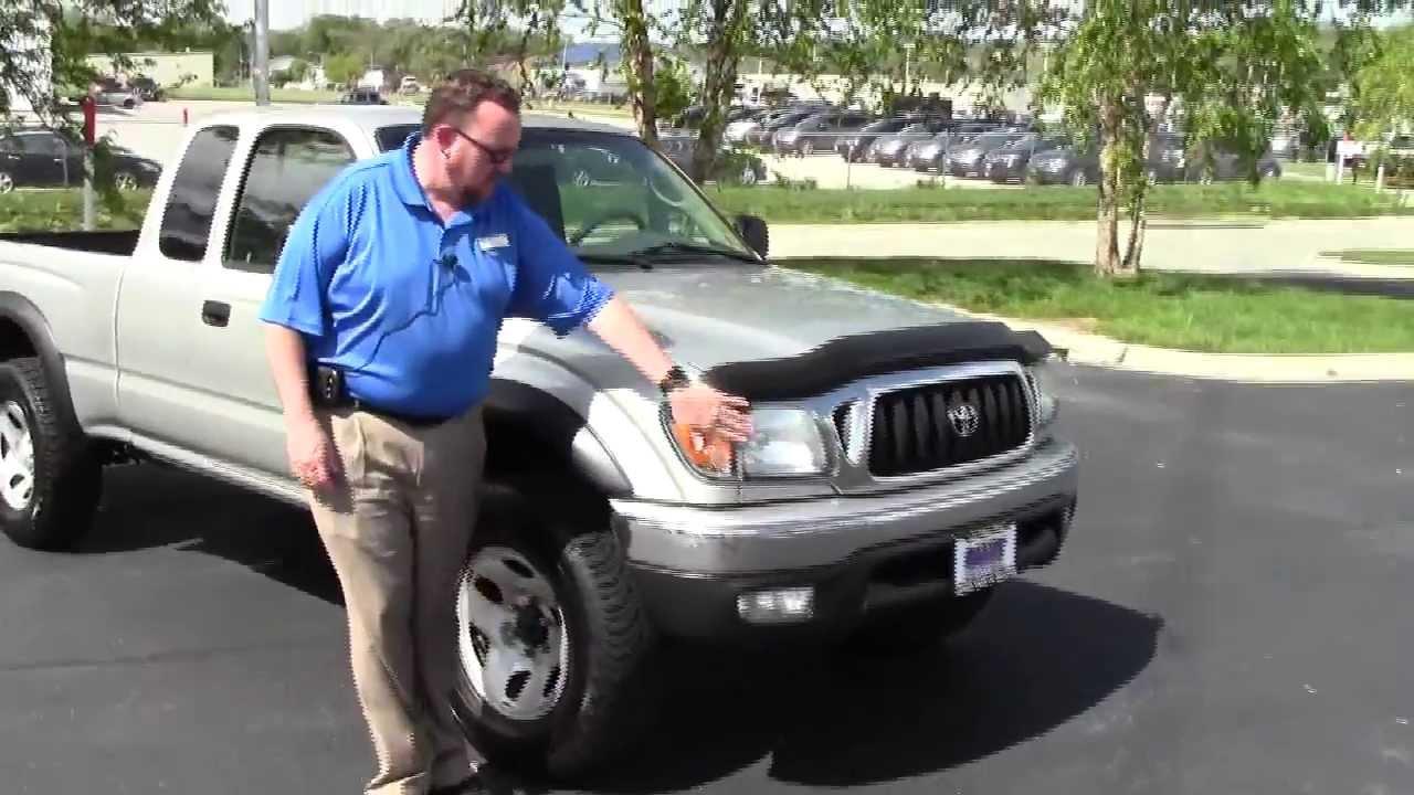 Used 2004 toyota tacoma sr5 4wd for sale at honda cars of for Honda dealership tacoma
