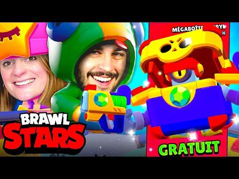 ON DEBLOQUE LE NOUVEAU SKIN GRATUIT : MEGABOITE DARRYL ! | PACK OPENING BRAWL STARS