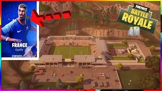 NEW FOOT AND SKIN WORLD CUP ON FORTNITE !!!