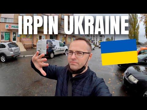 A Wet Anniversary Weekend in Irpin | Ukraine 🇺🇦 4K