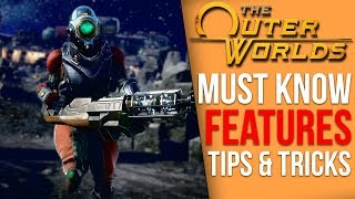 The Outer Worlds - 15 Things You NEED to Know Day One (Tips and Tricks)