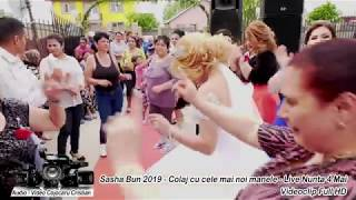 Sasha Bun 2019 - Colaj cu cele mai noi manele - Live Nunta Maxenu (Videoclip Full HD)