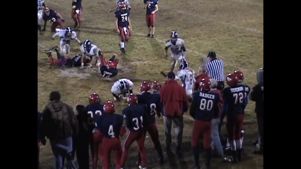 Ticonderoga - Moriah Football Highlights  11-5-10