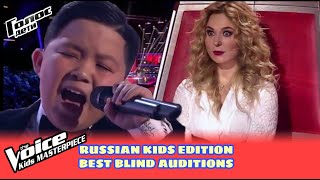BEST Blind Auditions in The Voice Kids Russia of ALL TIME