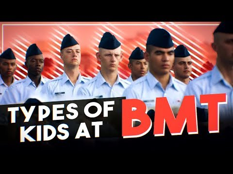 Types of kids at BMT | Funny Air Force Videos
