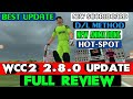 WCC2 2.8.0 UPDATE FULL REVIEW