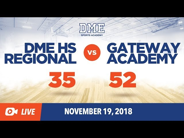 DME HS Regional vs Gateway