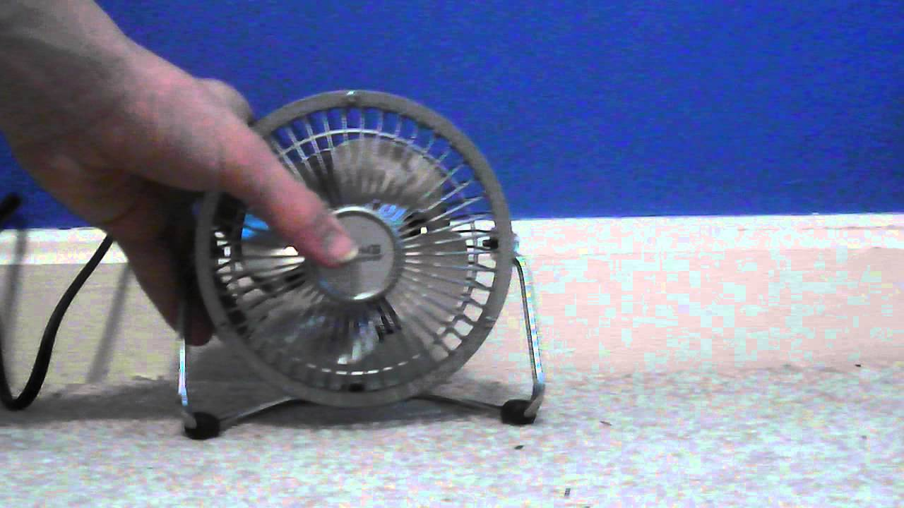 25 Living Solutions 4 table fan YouTube