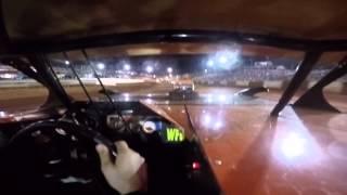 Von Casey at Rome Speedway 9-6-15 in car cam part 1
