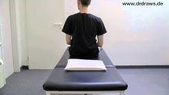 Lagerungsschwindel Übungen: Epley Manöver links - Lagerungsschwindel Infopaket (17/17)
