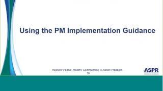 2017-2022 HPP Performance Measures Implementation Guidance Document Training Webinar