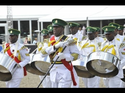 Trinidad & Tobago Defence Force Steel Orchestra | Jamaica Military Tattoo 2012