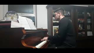 The Christmas Song (Nat King Cole, Torme / Wells) Sean Whytock, Piano (25/12/2020)