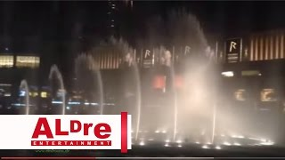 Dubai Fountain Water Dancing Show amazing place ever [HD]