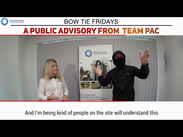 BOW TIE FRIDAYS S6E9 - A Public Advisory From Team PAC