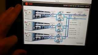Trane Tracer SC Chiller Plant Manager With Door Mounted IPad Display