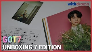 갓세븐 7 에디션 언박싱 | (Giveaway) Unboxing Got7's 7 Edition