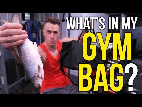 GYM BAG ESSENTIALS!! (What's in my gym bag?)