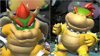 Mario Strikers Charged - Bowser vs Bowser Jr. - Wii Gameplay (4K60fps)
