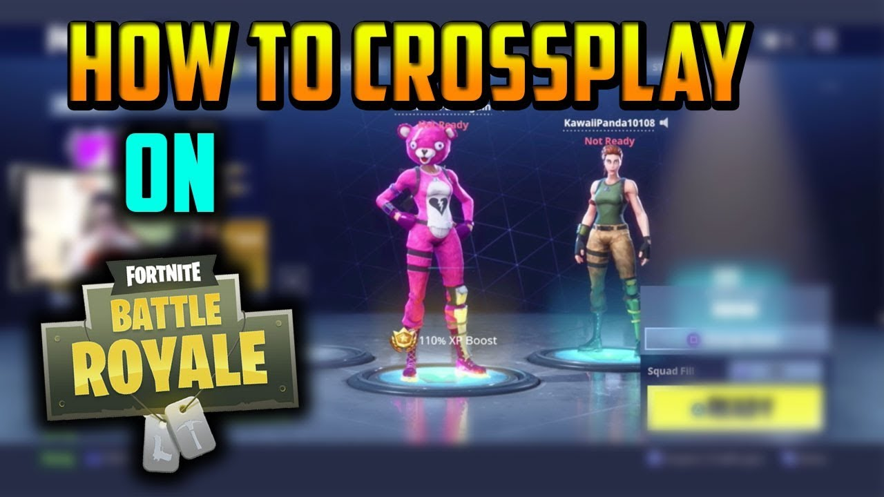fortnite guide how to crossplay on fortnite works on pc ps4 2018 fortnite cross platform - how to cross platform fortnite ps4