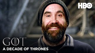 A Decade of Game of Thrones | Rory McCann on The Hound (HBO)