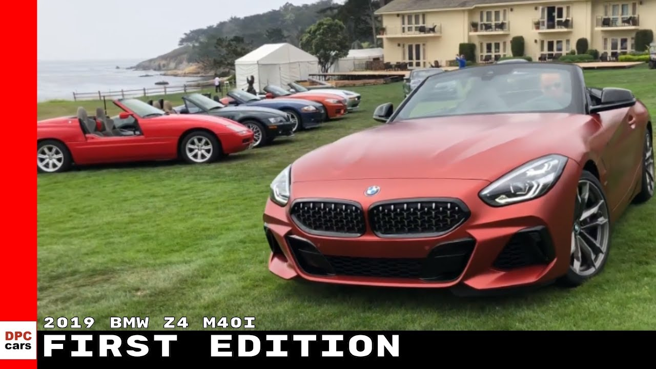 2019 Bmw Z4 M40i First Edition Youtube